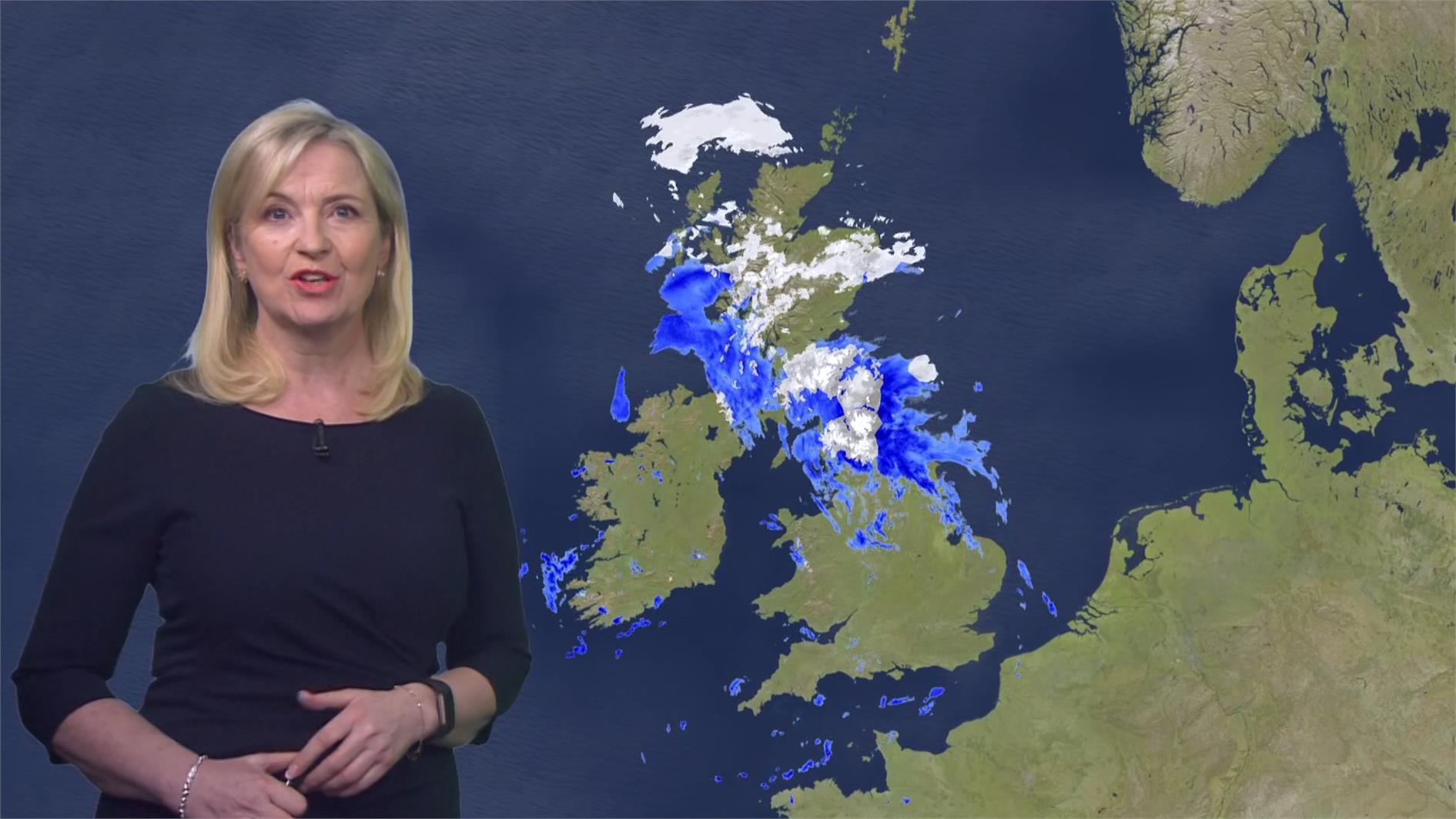 Carol Kirkwood - BBC Weather Presenter (1)