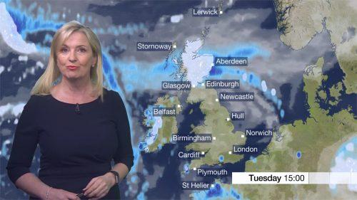 Carol Kirkwood - BBC Weather Presenter (2)