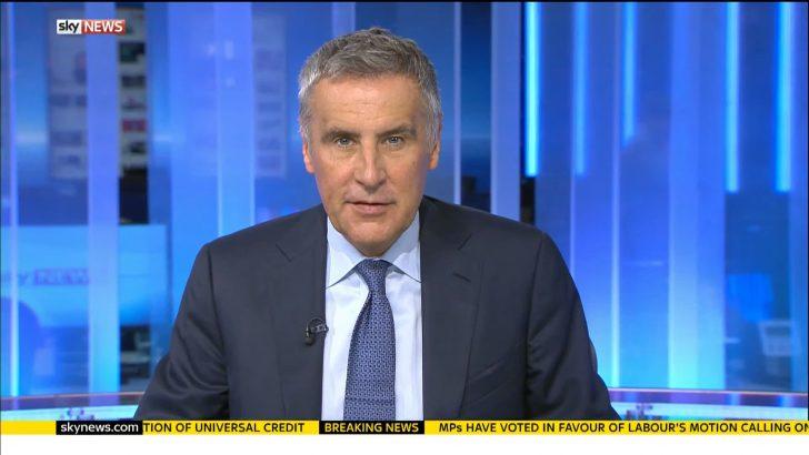 Dermot Murnaghan - Sky News Presenter
