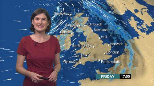 Helen Willetts - BBC Weather Presenter (1)