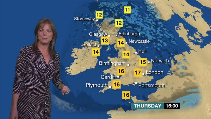 Louise Lear - BBC Weather Presenter (1)
