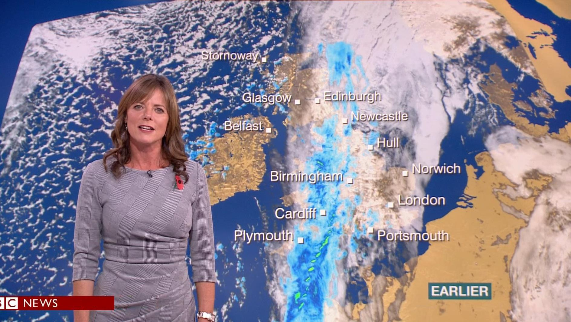 Louise Lear - BBC Weather Presenter (2)