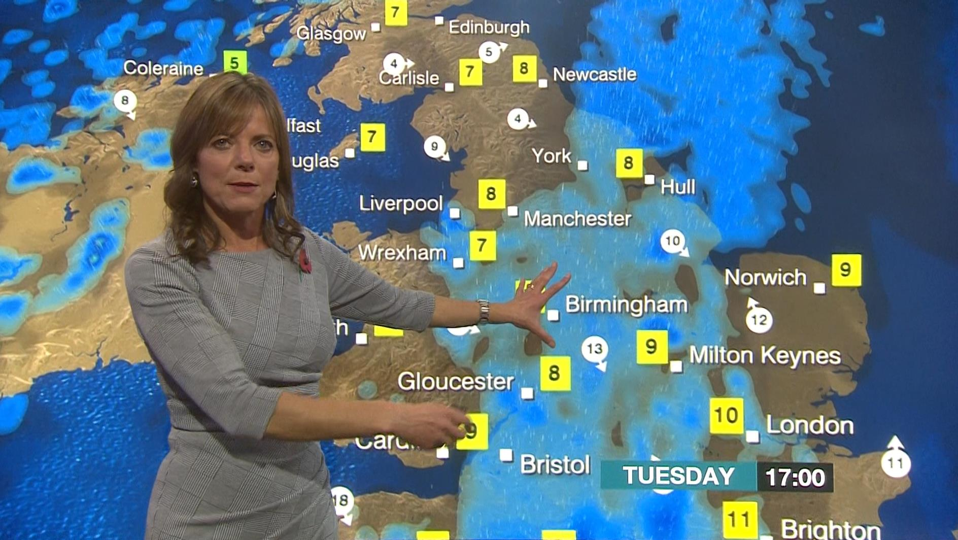 Louise Lear - BBC Weather Presenter (5)