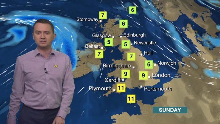 Matt Taylor - BBC Weather Presenter (1)