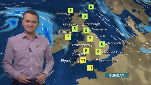 Matt Taylor - BBC Weather Presenter (2)
