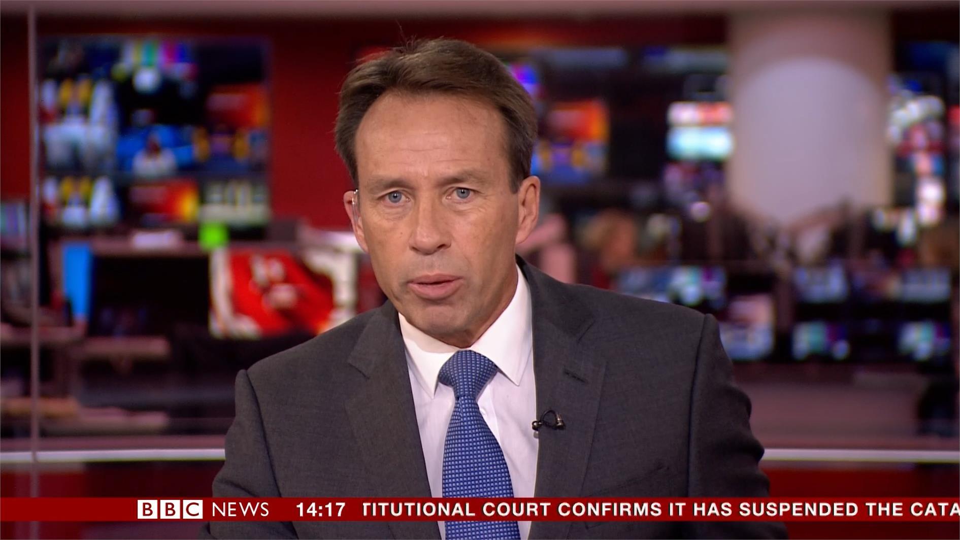 Ben Brown - BBC News Presenter (1)