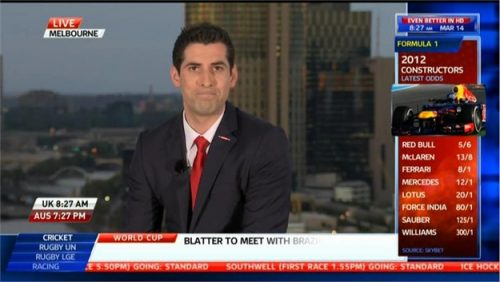 David Garrido - Sky Sports News Presenter (3)