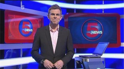 Matt Barbet - 5 News Presenter (1)