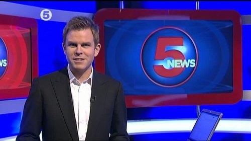 Matt Barbet - 5 News Presenter (2)