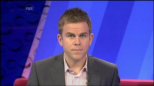 Matt Barbet - 5 News Presenter (3)