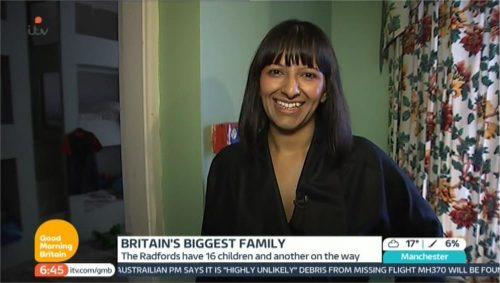 Images of Ranvir Singh - ITV Good Morning Britain (1)