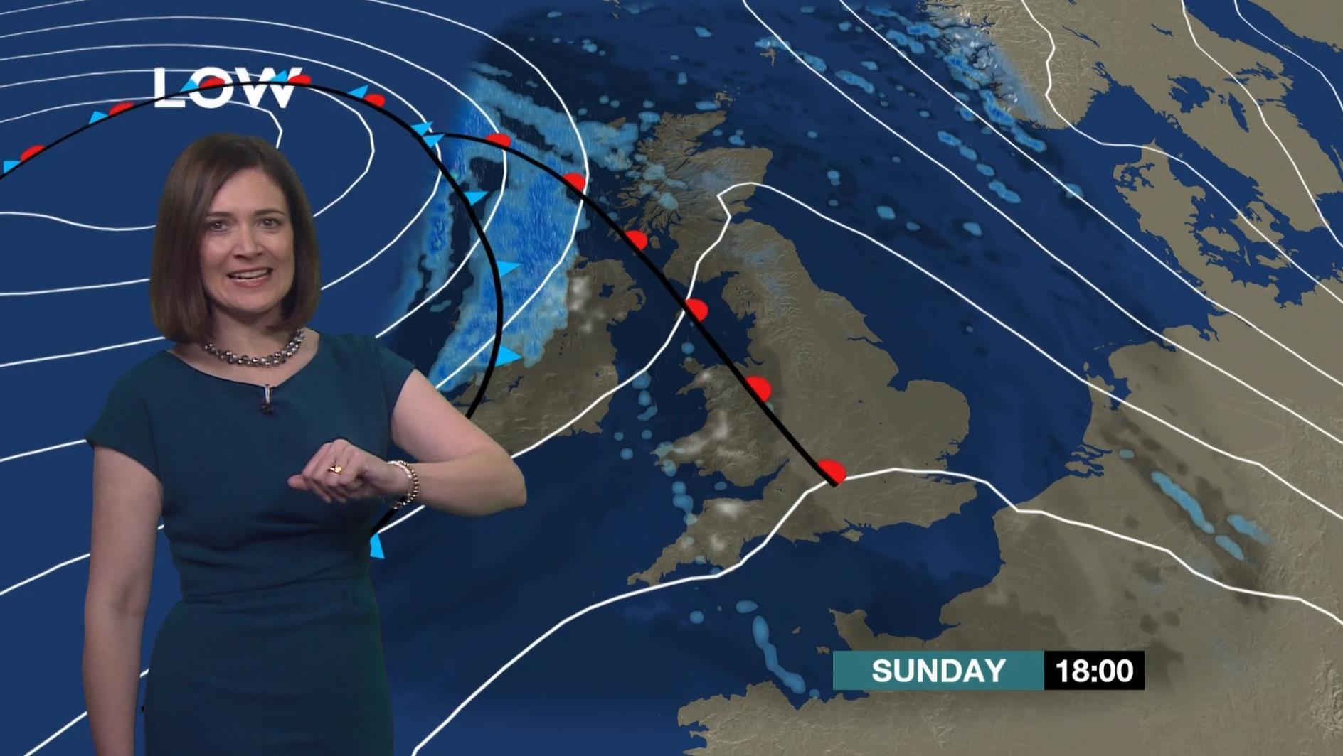 Alina Jenkins - BBC Weather Presenter (1)