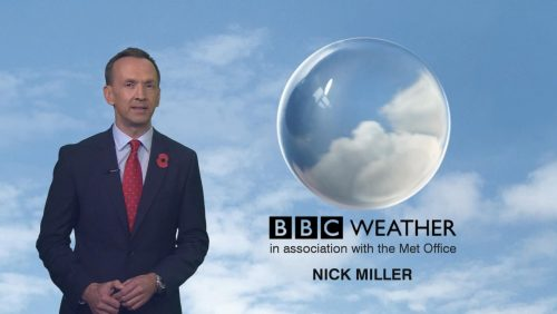 Nick Miller - BBC Weather Presenter (2)