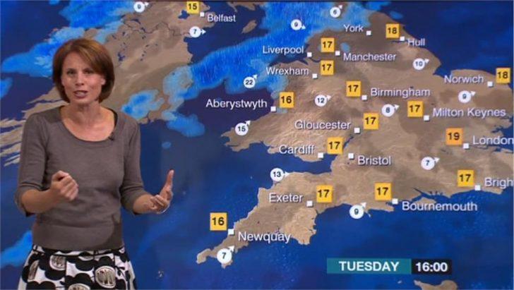 Images of Nina Ridge - BBC Weather (2)