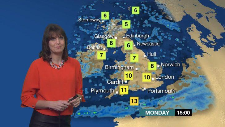 Susan Powell - BBC Weather Presenter (1)