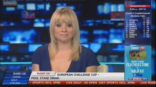 Alex Hammond Sky Sports News Presenter (2)