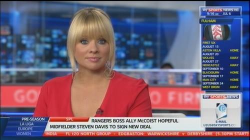 Alex Hammond Sky Sports News Presenter (4)