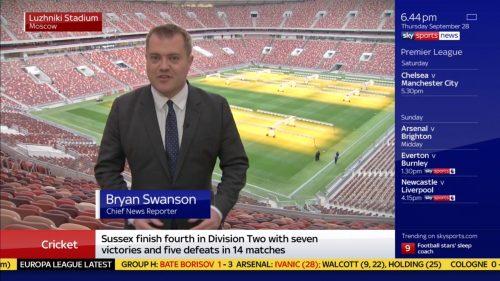Bryan Swanson - Sky Sports News Reporter (1)