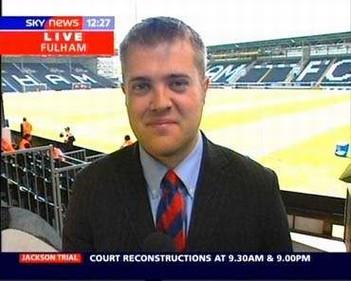Bryan Swanson - Sky Sports News Reporter (2)
