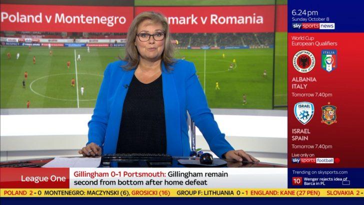 Clare Tomlinson - Sky Sports News Presenter (1)