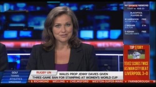 Clare Tomlinson - Sky Sports News Presenter (3)