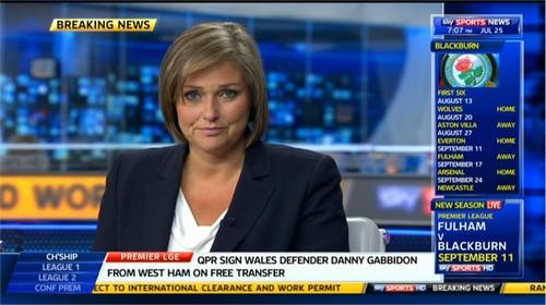 Clare Tomlinson - Sky Sports News Presenter (5)