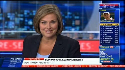 Clare Tomlinson - Sky Sports News Presenter (6)