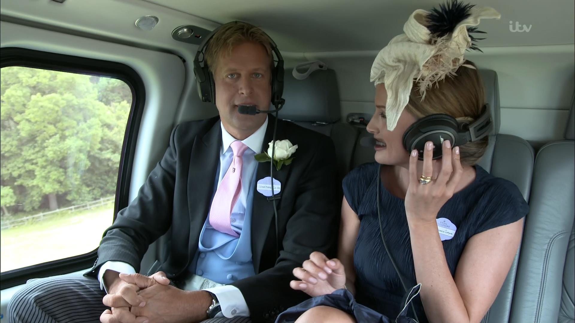 Ed Chamberlin - ITV Royal Ascot 2018 (1)