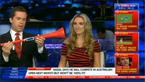 Georgie Ainslie - Former Sky Sports Presenter (9)
