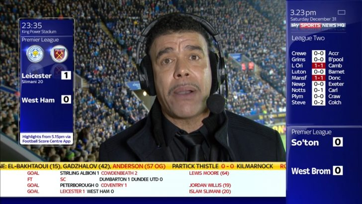 Chris Kamara - Sky Sports Soccer Saturday (1)