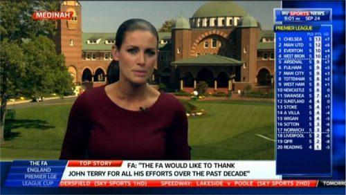Kirsty Gallacher - Sky Sports News Presenter (2)