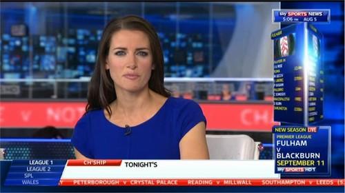 Kirsty Gallacher - Sky Sports News Presenter (3)