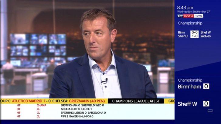 Matt Le Tissier - Sky Sports Soccer Saturday (2)