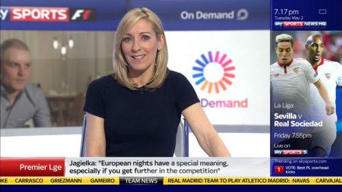 Vicky Gomersall - Sky Sports News Presenter (1)