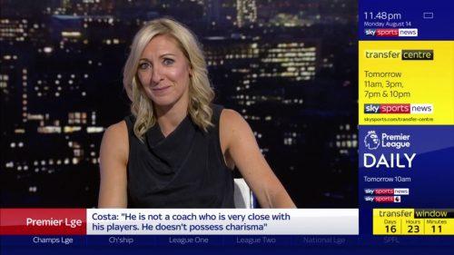 Vicky Gomersall - Sky Sports News Presenter (3)