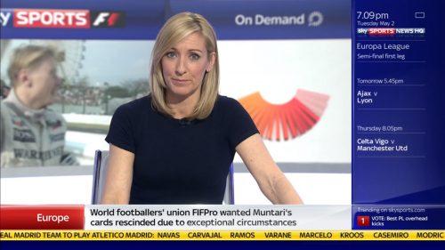 Vicky Gomersall - Sky Sports News Presenter (4)