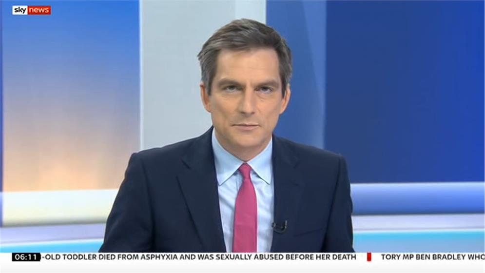 Jonathan Samuels - Sky News Sunrise Presenter