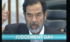 Saddam Hussein Sentenced 2006 - ITV News (1)