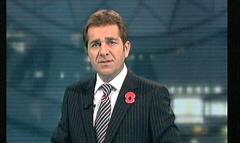 Saddam Hussein Sentenced 2006 - ITV News (2)
