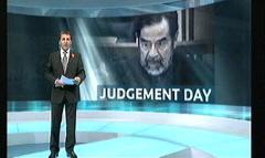 Saddam Hussein Sentenced 2006 - ITV News (3)