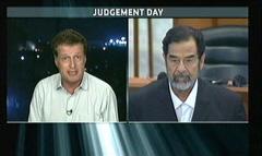 Saddam Hussein Sentenced 2006 - ITV News (4)
