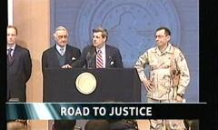 Saddam Hussein Sentenced 2006 - ITV News (5)