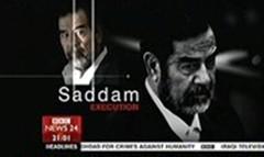 Saddam Executed 2006 - Brian Hanrahan and Annita McVeigh for BBC News Channel (2)