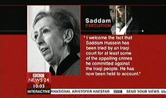 Saddam Executed 2006 - Clive Myrie for BBC News Channel (3)