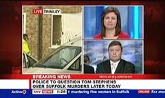 Suffolk Killer 2006 - Julie Etchingham Sky News (3)