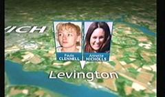 Suffolk Killer 2006 - Mark Austin, Mary Nightingale - ITV News (2)