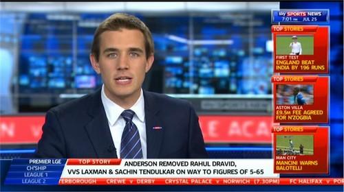 Alex Payne - Sky Sports Rugby Presenter