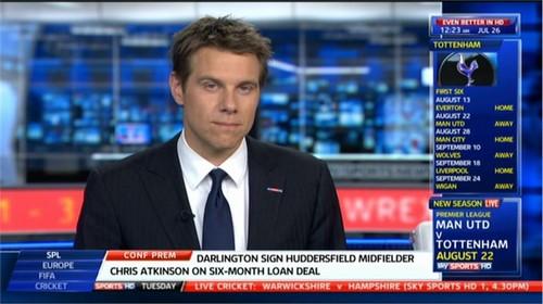 Tony Wrighton Sky Sports News Presenter (2)