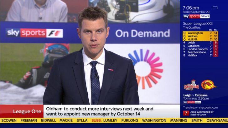 Tony Wrighton Sky Sports News Presenter (3)