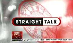 Straight Talk – BBC News Programme